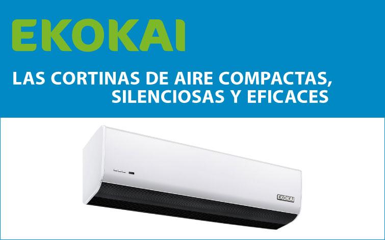 Cortinas de aire EKOKAI, ahorro energético en locales