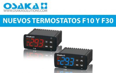 OSAKA – Nuevos termostatos F10 Y F30