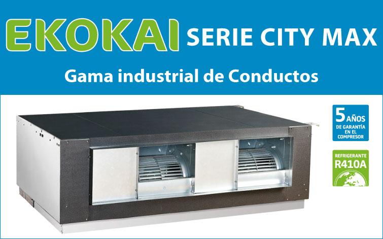 EKOKAI SERIE CITY-MAX Gama industrial de 20 Kw a 40 Kw