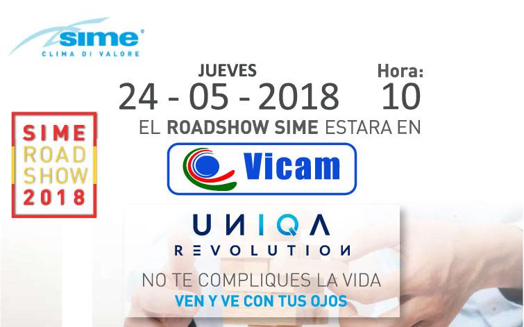 EL ROADSHOW DE SIME ESTARÁ EN VICAM