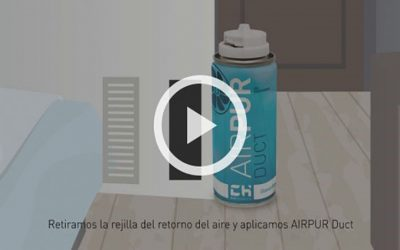 AIRPUR DUCT, VIDEO Eliminador de olores para conductos de aire acondicionado.