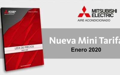 Tarifa Mitsubishi Electric 2020