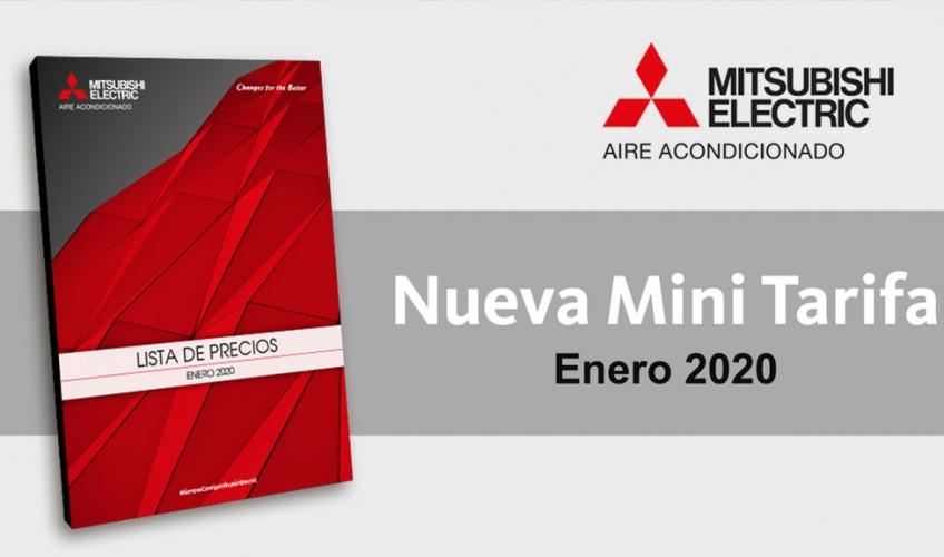 Tarifa Mitsubishi Electric 2020