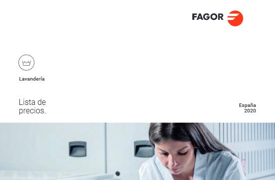 Nueva tarifa 2020 Fagor Lavandería
